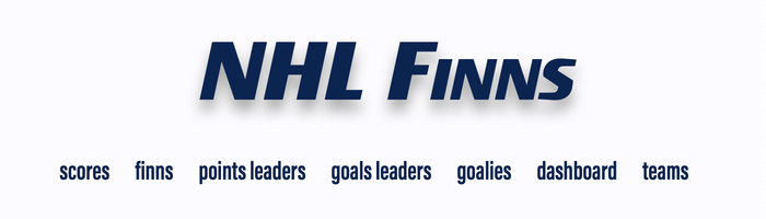 NHL Finns site